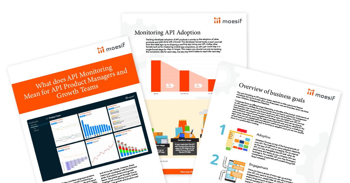 How to leverage API monitoring tools to further your business's growth and your product road map