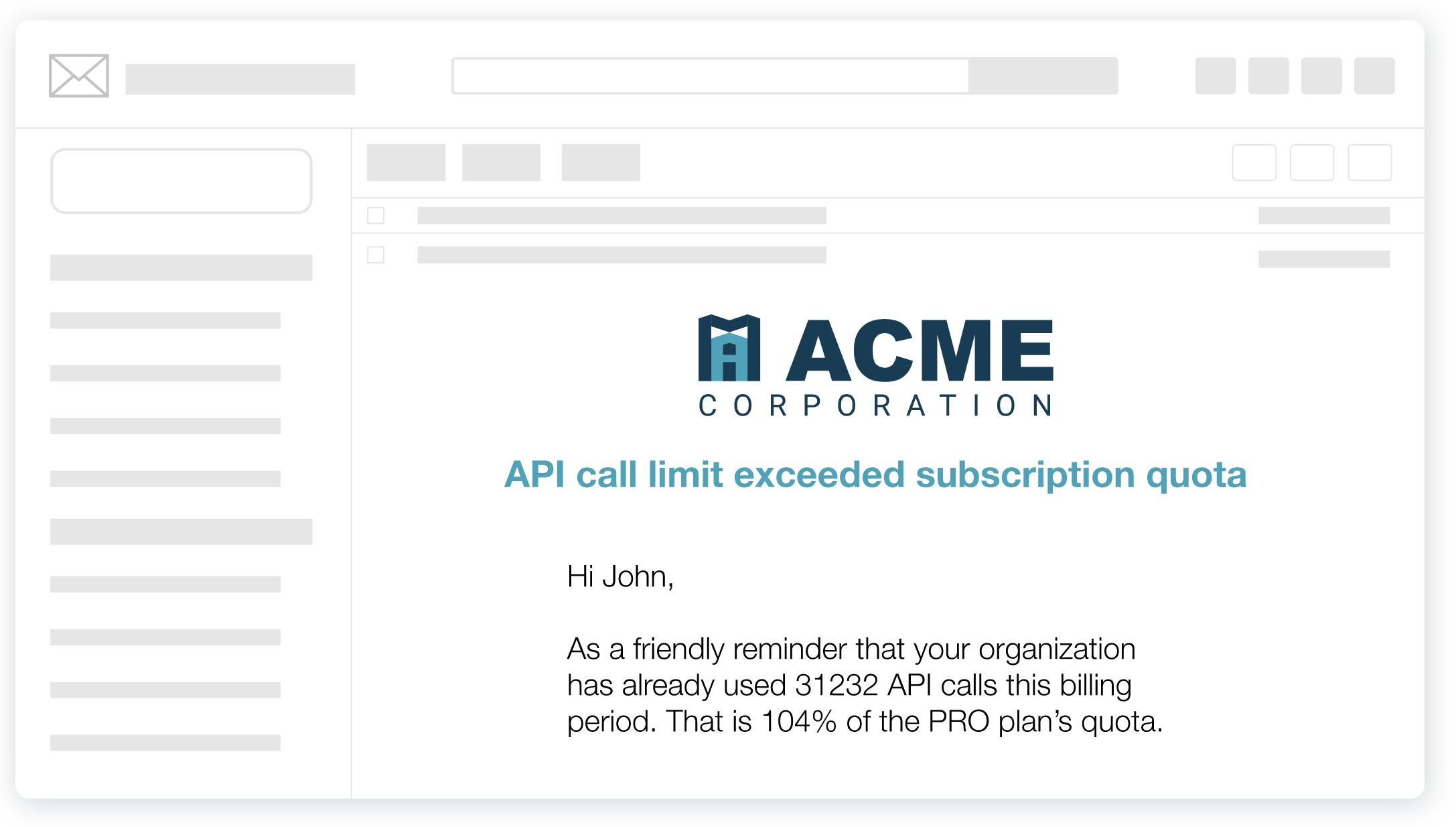 API call limit exceeded quota