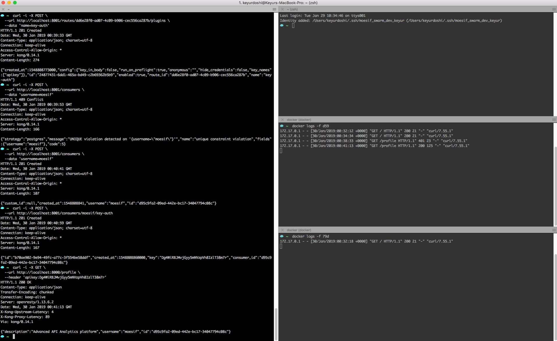 Load Balancing with Kong API Gateway using Docker | Moesif Blog